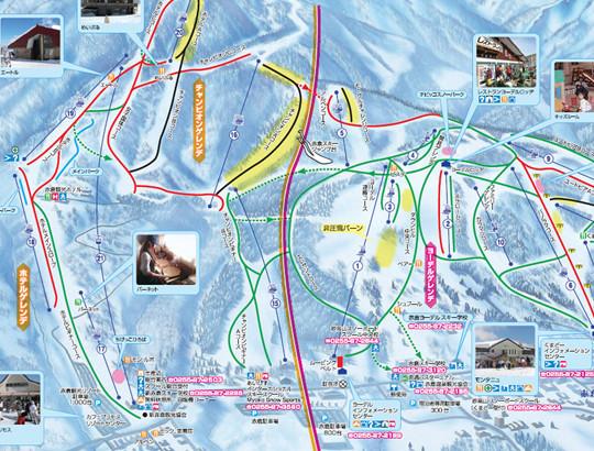赤倉温泉スキー場情報