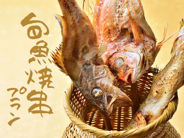 〈旬魚焼串プラン 2019秋〉新潟ならではの海の幸を焼串で堪能!